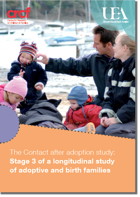 Download the leaflet for practitioners: Summary of Key Findings of the Contact After Adoption Study UEA (PDF file, 2MB)