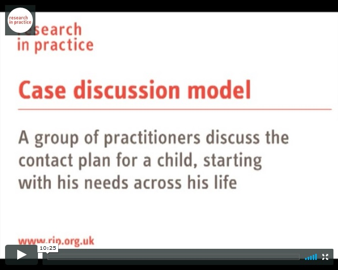 Film clip: the case discussion model in action